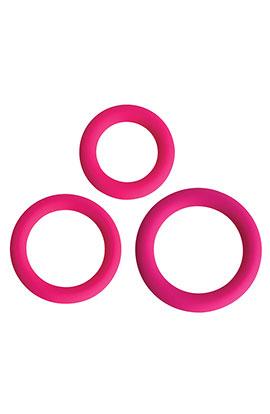 Gossip - Love Ring Trio - Magenta