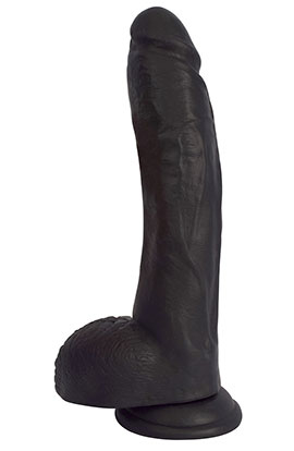 10 Inch Midnight Dildo With Suction Cup.