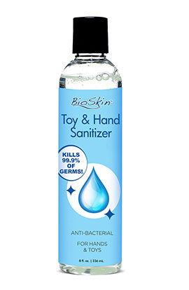 Bioskin Toy & Sanitizer - Clear, Sanitizer - Clear.