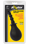 Tail Cleaner Rippled - Black, Tail Cleaner Rippled Anal Douche.